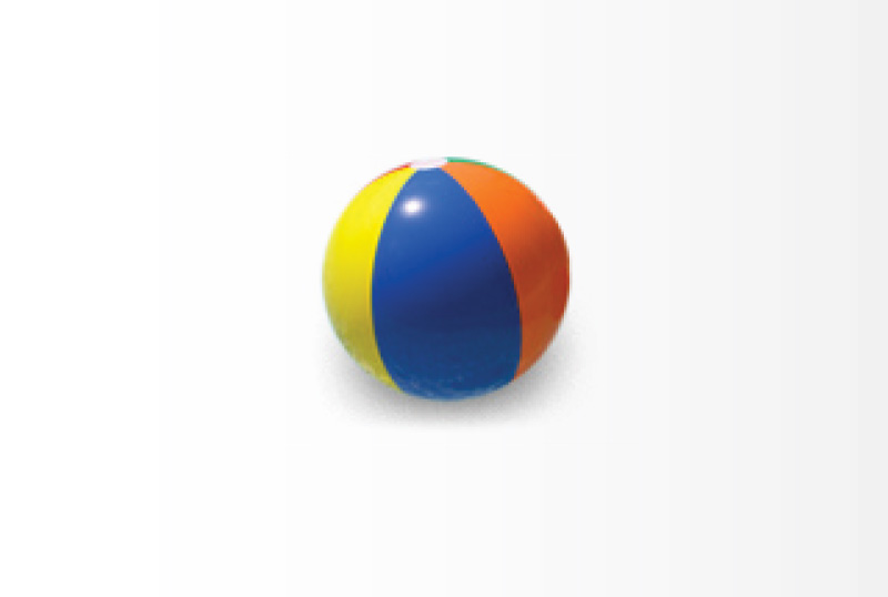 beach ball for chlorine water